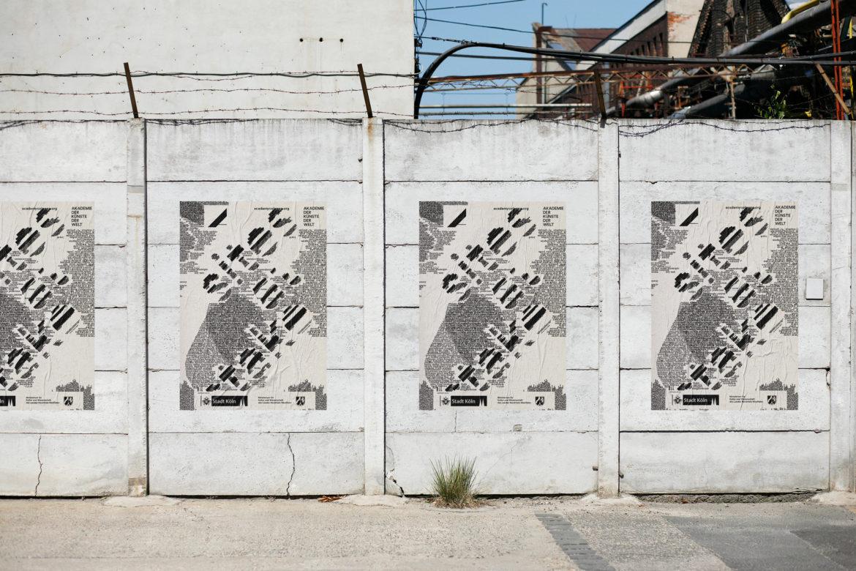 Posterdesign | Grenzen überschreiten | öffentlicher Raum