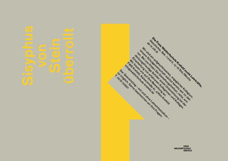 Konzept | Corporate Design | Kampagne | Text- Bildebene | positiv negativ Ebenen