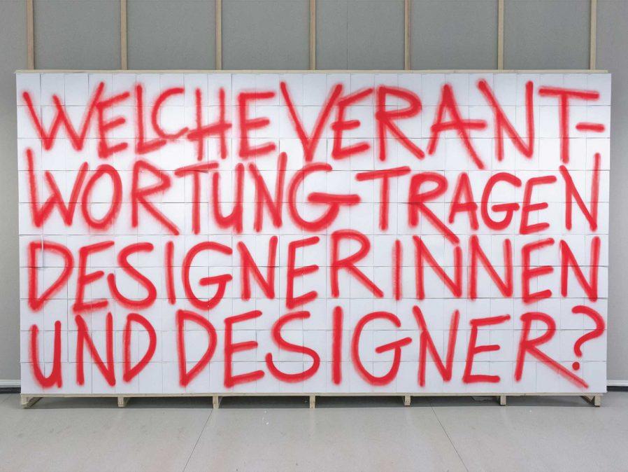 Verantwortung im Design | Interview | Gestaltung | Individuell | Meinung