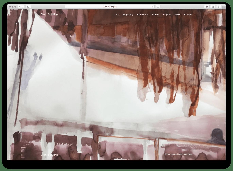Webdesign | Home | Künstler | Galerie | Atelier