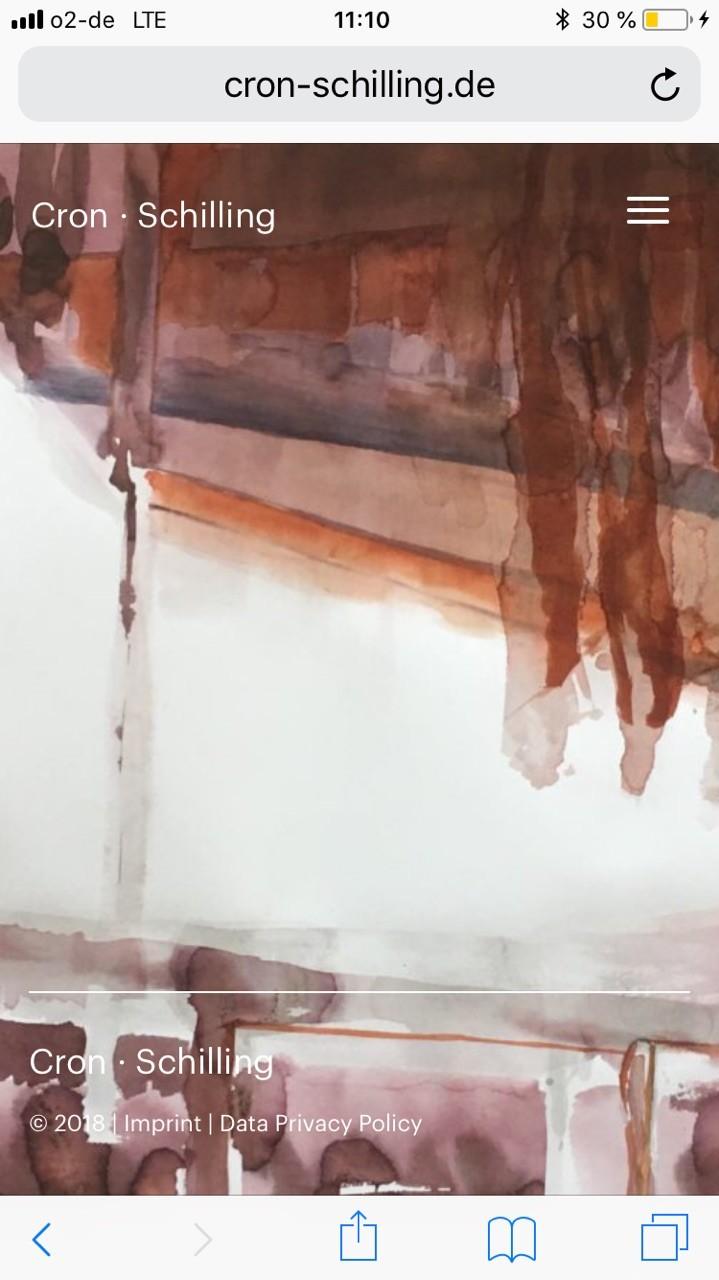 Screen Design | Mobil | Künstler | Startseite | Home