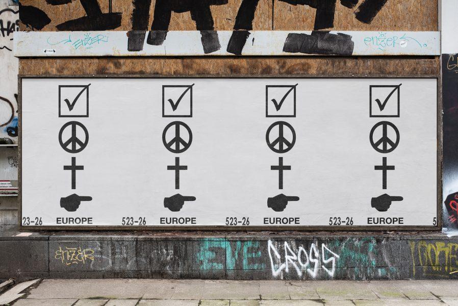 European Elections | Europawahl | Poster Design | Urban