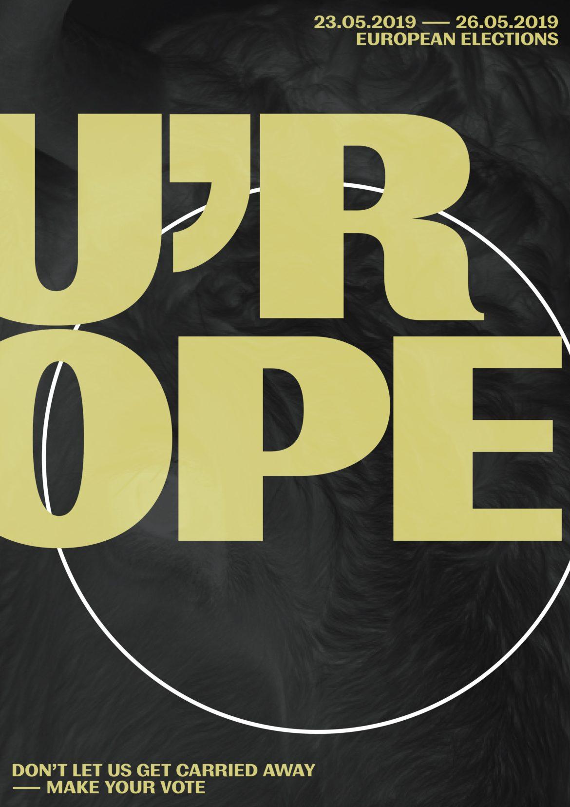 European Elections | Europawahl | Poster Design | Typografie