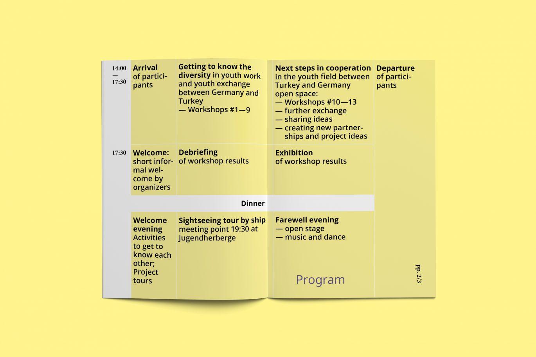 Konferenz Programm | Innenseiten | Booklet | Interkulturell