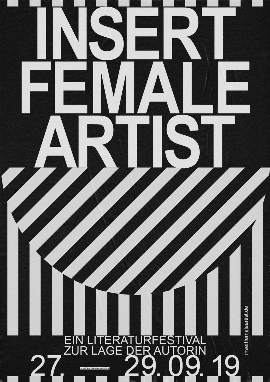 Plakat |Design | Female | Linien | Typografie