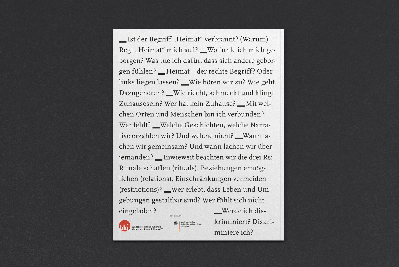 Rückseite | Magazin | Zeitschrift | Mikrotypografie | kulturelle Bildung