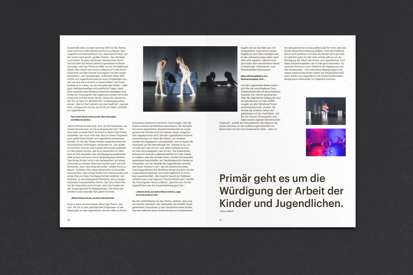 Editorial Design | Raster | Artikel | Magazin