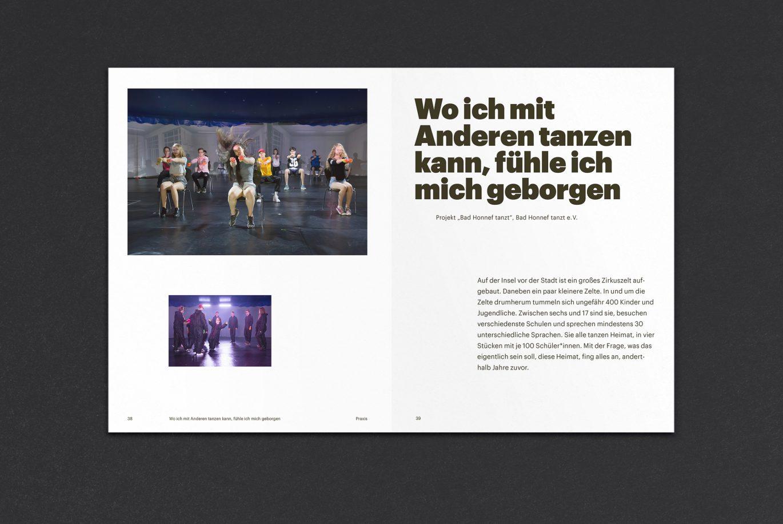 Magazin Design | Hierarchie | Schwerpunkt Headline | Innenseiten