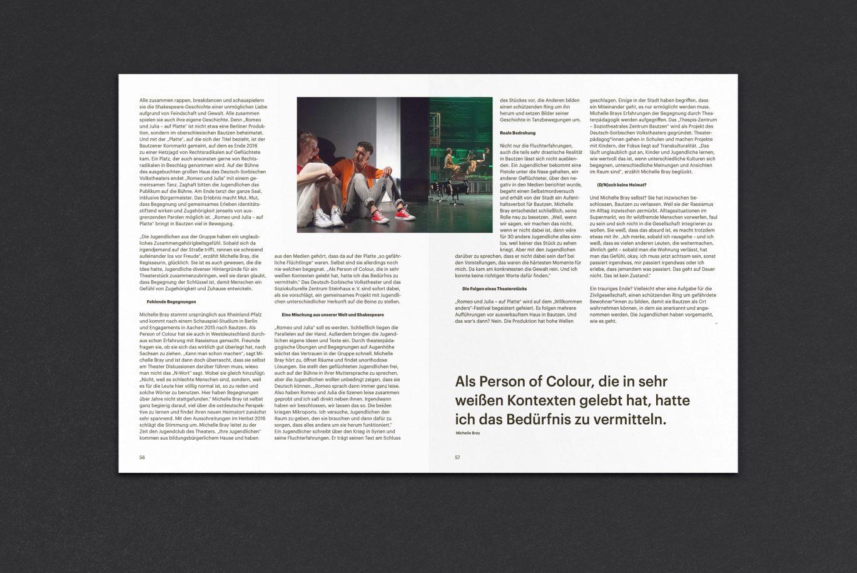 Innenseiten | Layout | Typografie | Text setzen | kulturelle Bildung