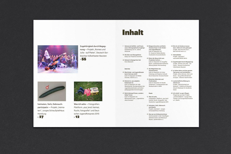 Editorial Design | Raster | Artikel | Magazin | Inhaltsverzeichnis