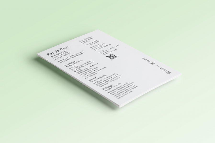 Einladung Ausstellung Rückseite