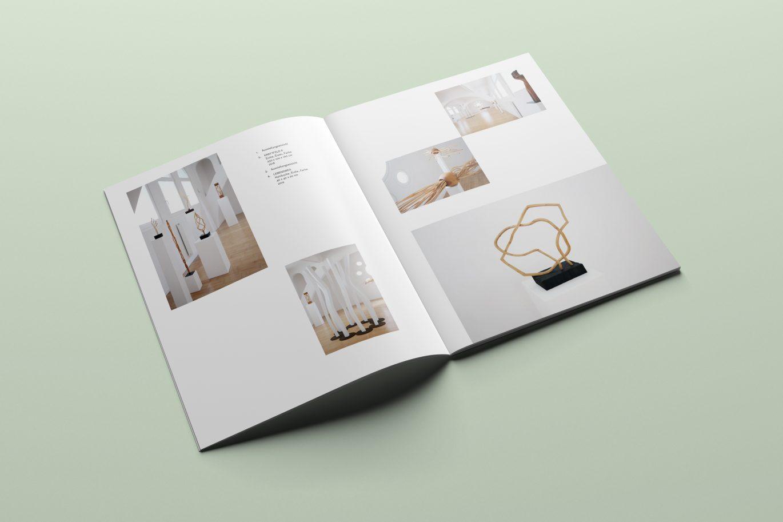 Katalog | Kunst | Ausstellung | Rasteraufbau