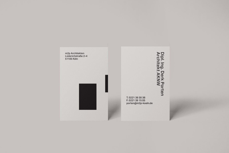 m2p Architekten Visitenkarte Motiv1