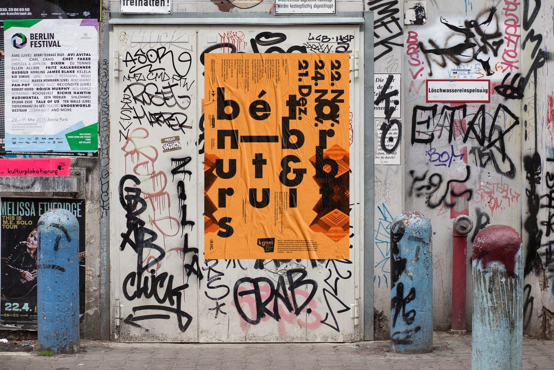 Ansicht | Anwendung Poster | Graffiti | integriert