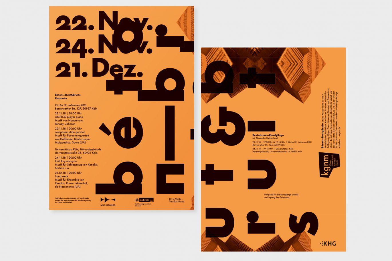 kgnm Flyer / Plakatdesign