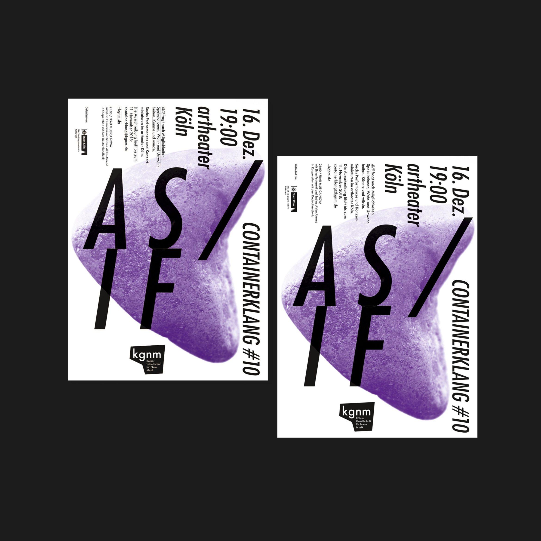 Flyer | Farbakzent | Musik Gesellschaft | im Herzen Kölns
