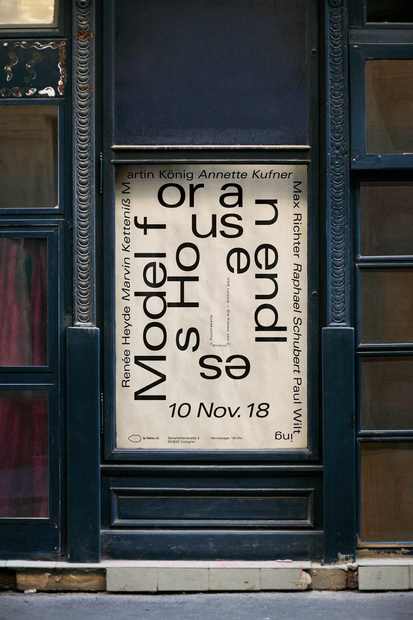 Urban | Plakat Werbung | Ausstellung | Malerei
