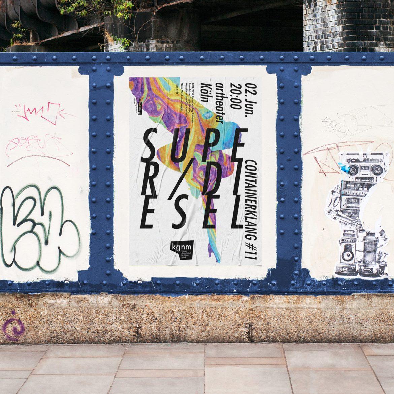Poster Design | öffentlicher Raum | Musik Konzert | Redesign