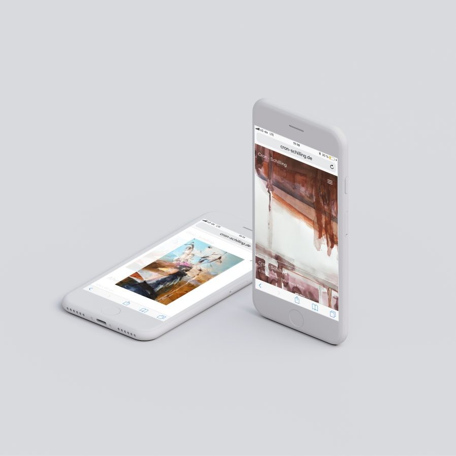Webseite | Responsive | Smartphone | Produktpalette | Online Design
