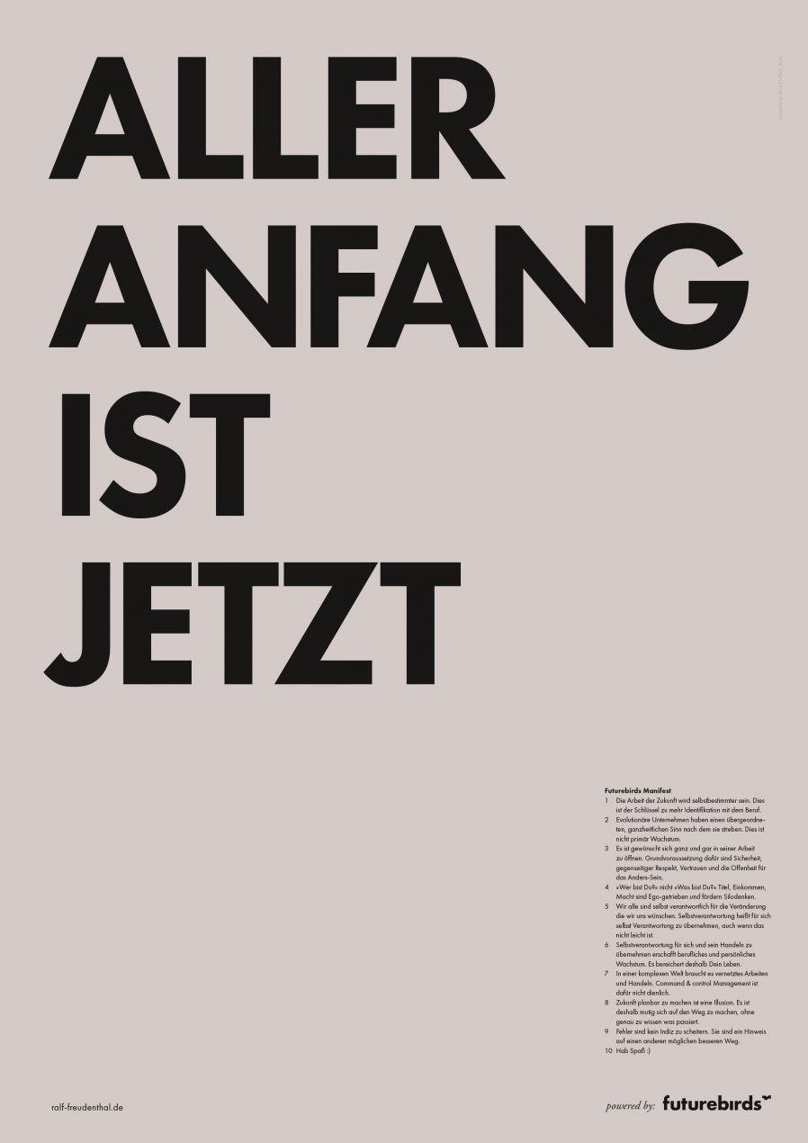 Posterdesign | Flatdesign | Vollansicht | Plakat