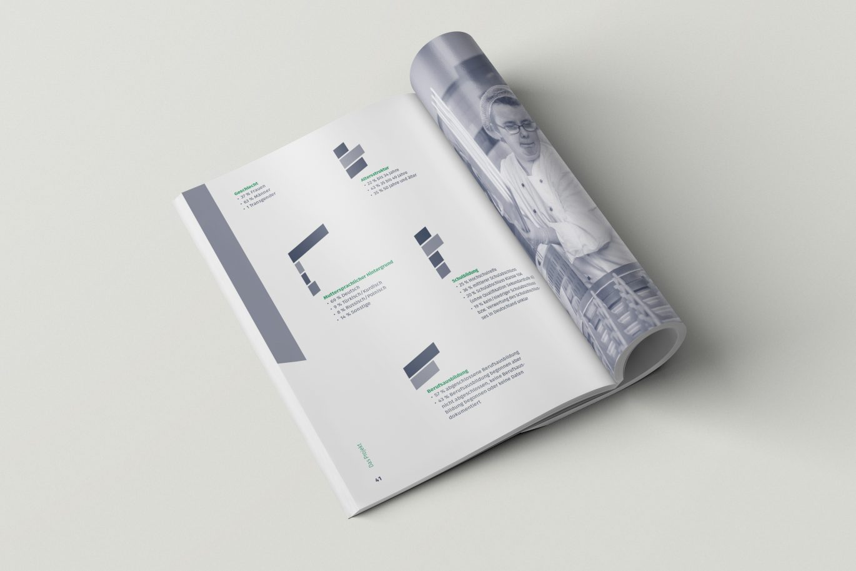 Broschüre | Infografik | Doppelseite | modern