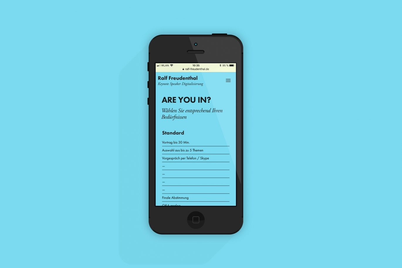 Mobile Version | Responsive Design | Online Design | Programmierung