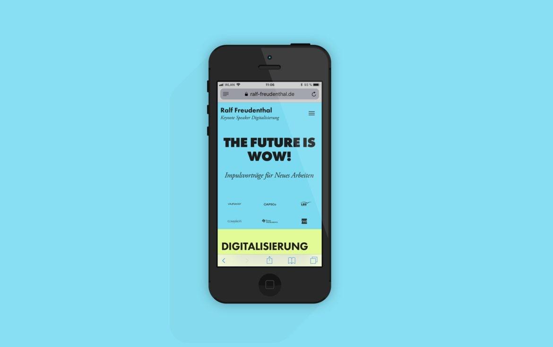 Mobilansicht | Mobile Version | Responsive Design | Online Design
