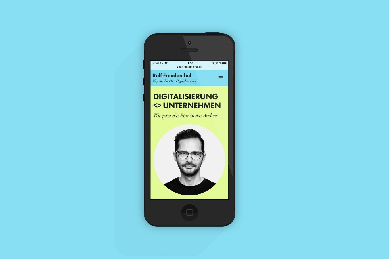Webgestaltung | Mobile Version | Responsive Design | Programmierung