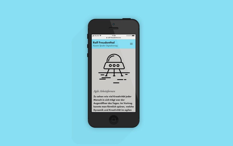 Mobile Version | Responsive Design | Icon | Illustration | Online Design