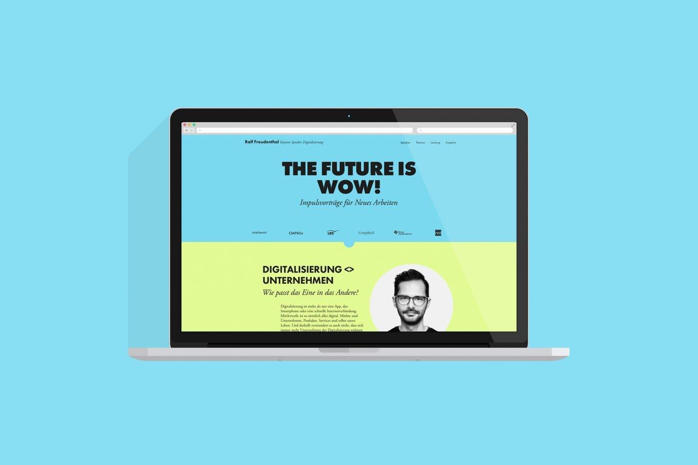Website design | UX UI Design | Mircowebseite | Programmierung