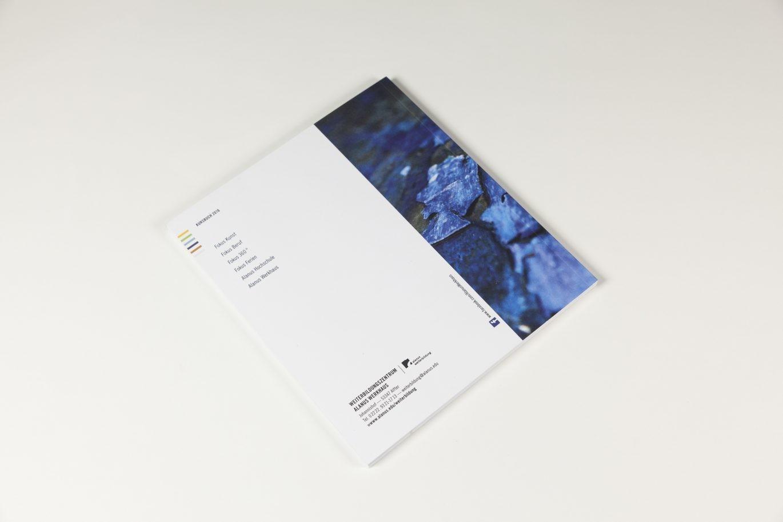 Rückseite | Kursbuch | Weiterbildungszentrum | Editorial Design