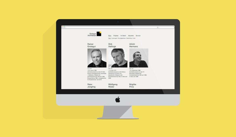 Website Desktop | Online Kommunikation | Web Design |Logo Design