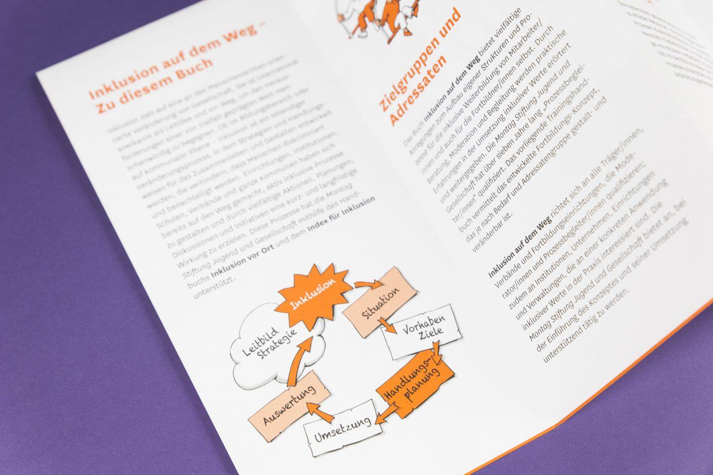 Flyer Innenseiten | Illustration | DIN Lang Flyer | Druckgestaltung