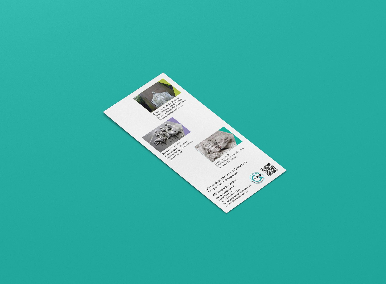 Flyer | Stadtführer | DIN Lang | Unternehmenserscheinungsbild