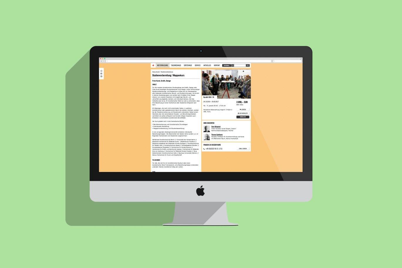 Web Design | Internetauftritt | Usability-Konzept | visuelle Gestaltung