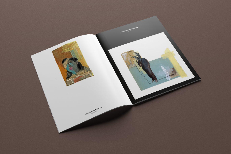 Innenseite | Broschüre | Portfolio | Künstlerin