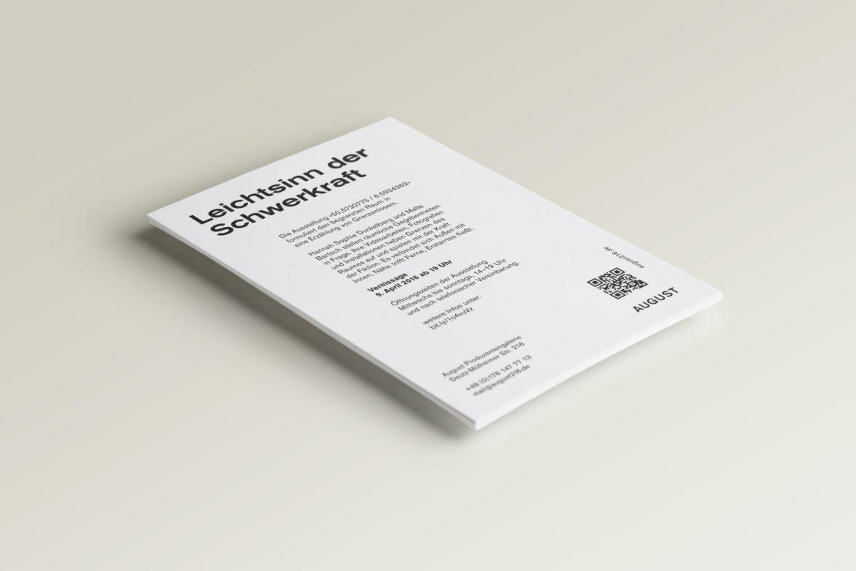 Flyer | Vernissage | Produzentengalerie | Künstler