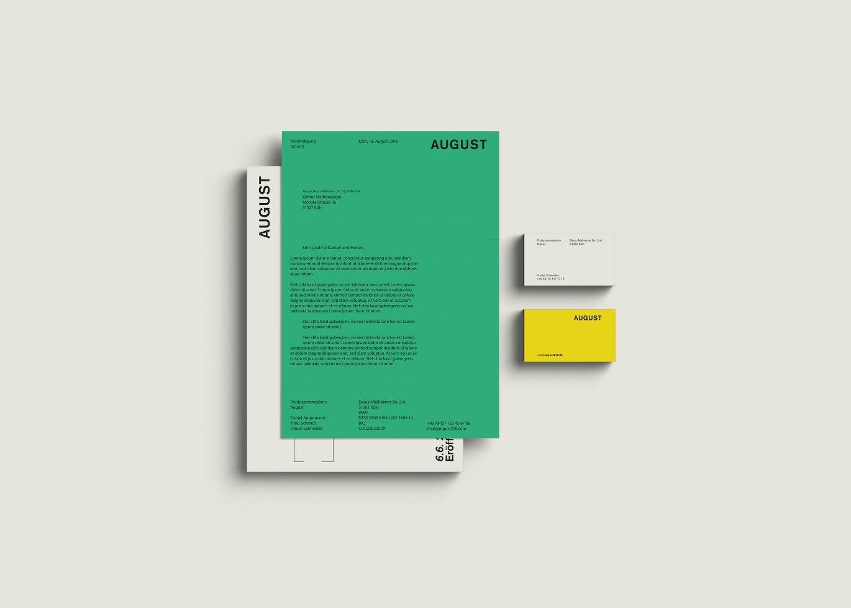 Corporate Design | Unternehmensgestaltung | Geschäftsausstattung | Briefbogen | Visitenkarte