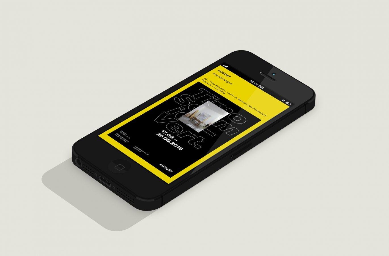 Mobil Ansicht | Responsive Design | Corporate Design | Gestaltungselement