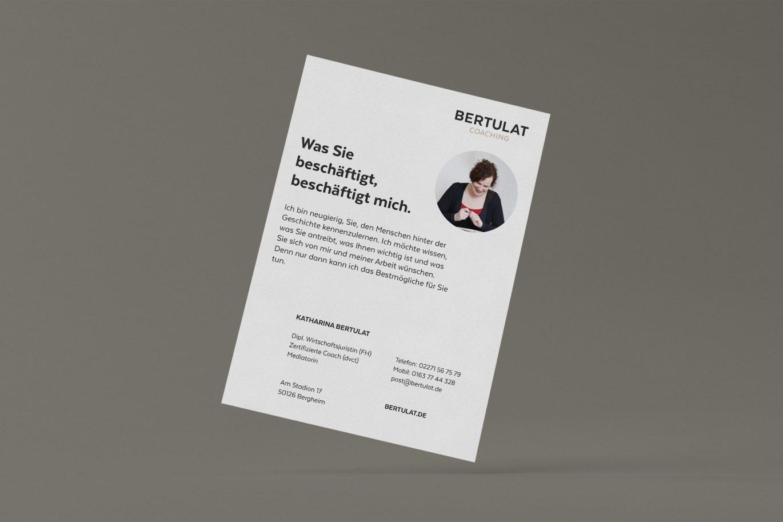 Flyer | Rückseite | Illustration | Gestaltungsprinzipien | Gestaltungshierarchien