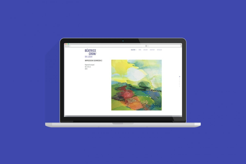 Desktop Ansicht | Responsive Design | Online Design | Web Design
