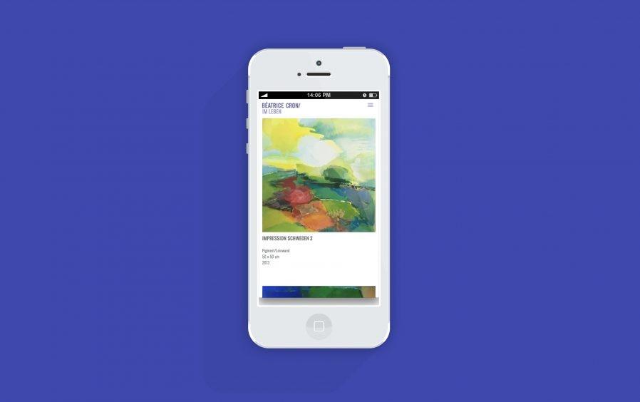 Mobil Ansicht | Responsive Design | Online Design | Web Design