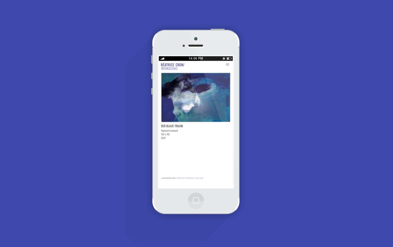 Mobil Ansicht | Responsive Design | Online Kommunikation | Web Design