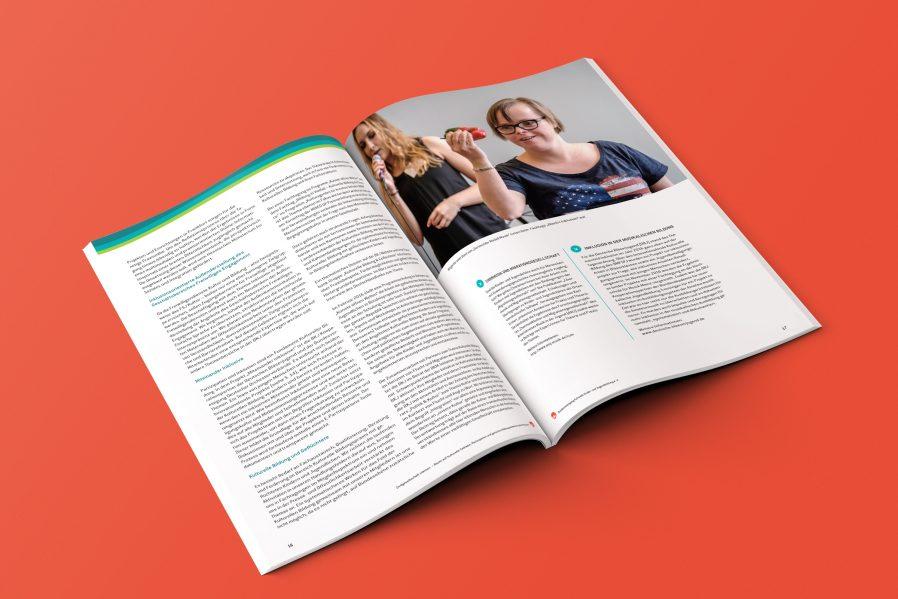 Layout Design | Innenseiten | Bild Text Composing | Kulturelle Bildung