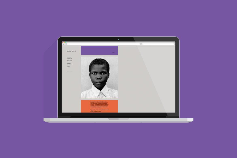 Website   Desktop Ansicht   Webdesign   Internetauftritt