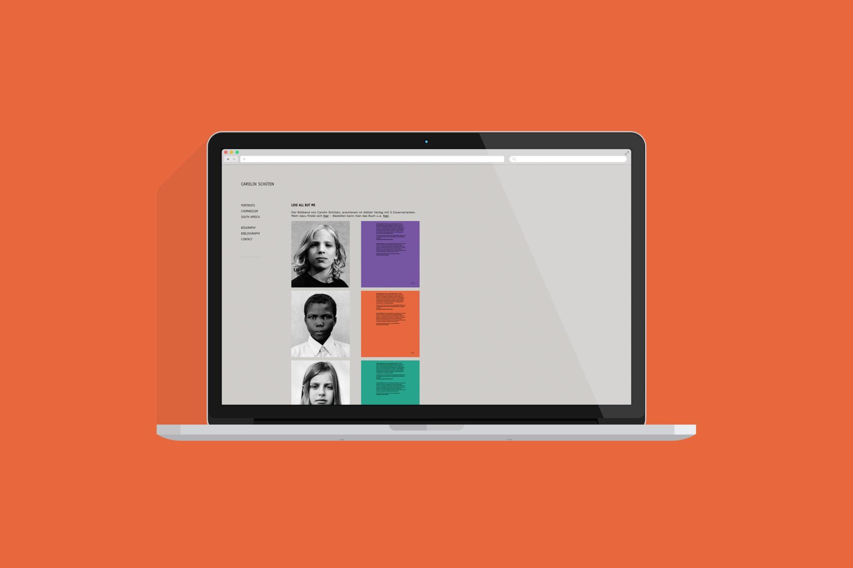Website   Desktop Ansicht   Webdesign   Internetpräsenz