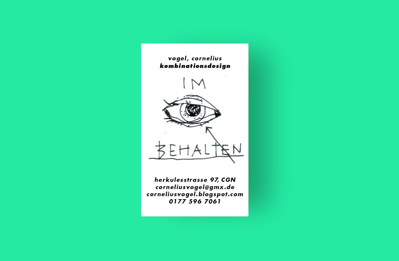 Visitenkarte | Motiv | Sammelkarte | individuelle Gestaltung | Illustrator