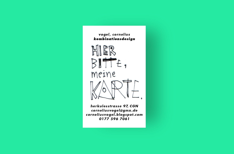 Visitenkarte | Sammelkarte | individuelle Gestaltung | Illustrator | Motiv