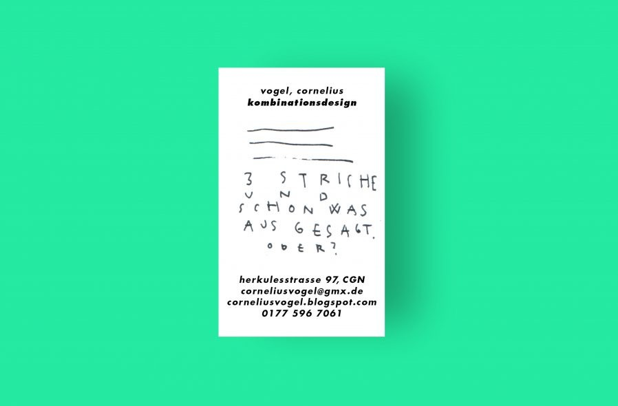 Visitenkarte | Geschäftspapiere | Sammelkarte | individuelles Design | Illustrator