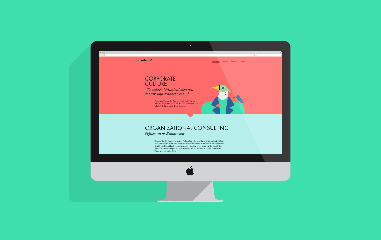 Unternehmensgestaltung | Webdesign | Desktop | Coporate Design